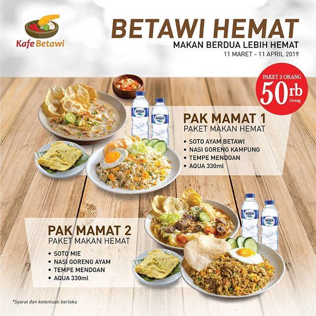 Kafe Betawi - promo 2