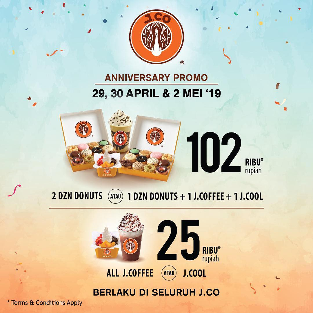 J.CO Donuts & Coffee - promo 1