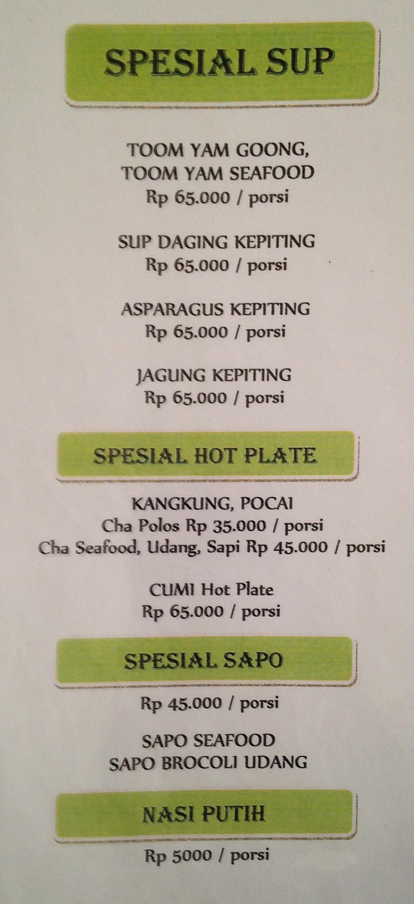 Parit 9 Seafood Menu Menu For Parit 9 Seafood Riau Bandung Qraved Indonesia